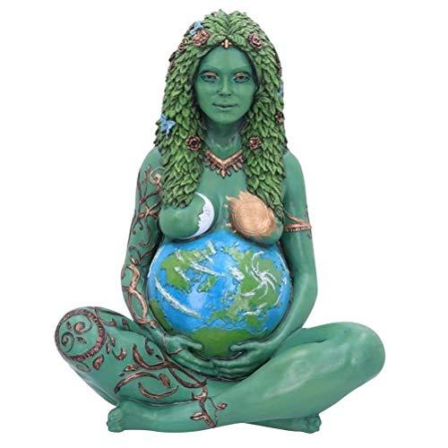 Mutter Erde Ornament, Lifestyle & More Moderne Skulptur Deko Figur Liebespaar, Göttin Statue Polyresin Dekorative Figur Dekoration für Home Garten