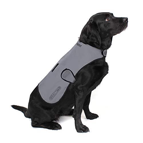 Proviz Sports 100% Reflective High-Vis Waterproof Dog Coat