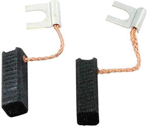 Buildalot Specialty Kohlebürsten ca-03-23519 für Casals Bohrmaschine TP35/2-6,4x6,4x20mm - Mit Kabel und Stecker - Ersatz für Originalteile 1.607.014.101