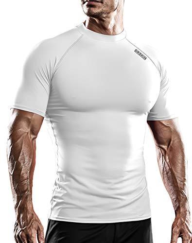 DRSKIN - Mallas de compresión para practicar deportes en seco y frío, para hombre - - Medium