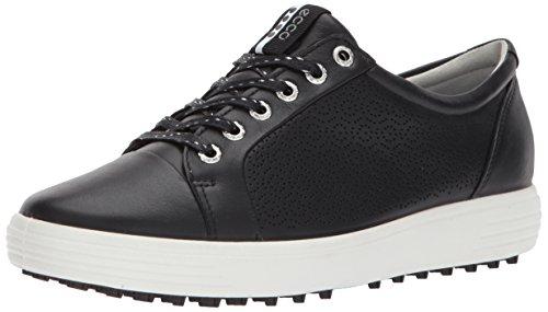 ECCO Women's Casual Hybrid 2 Golf Shoe, Black, 39 EU/8-8.5 M US