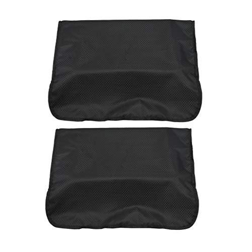 Amagogo 2x Fundas Traseras de Silla de Peluquero de Peluquería Cubierta Protectora de Plástico de Salón