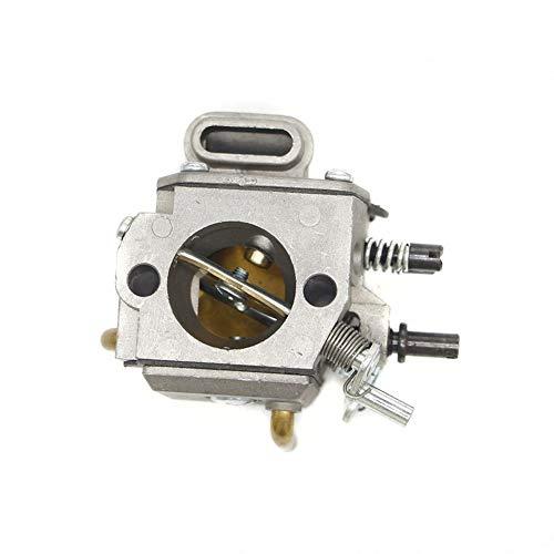 Carburador Carburador for STIHL 044 046 MS440 MS460 Reemplazar Walbro Zama HD-15C HD-17C de la motosierra 1.128 120 0.625 Accesorios de moto (Color : Silver)