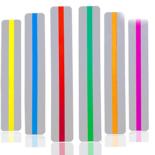 Dyslexia Tools for Kids 12 Pack Guide Reading Strips Highlight Strips Colored Overlay Highlight Bookmarks Help with Dyslexia for Kids Teachers Special Education Supplies