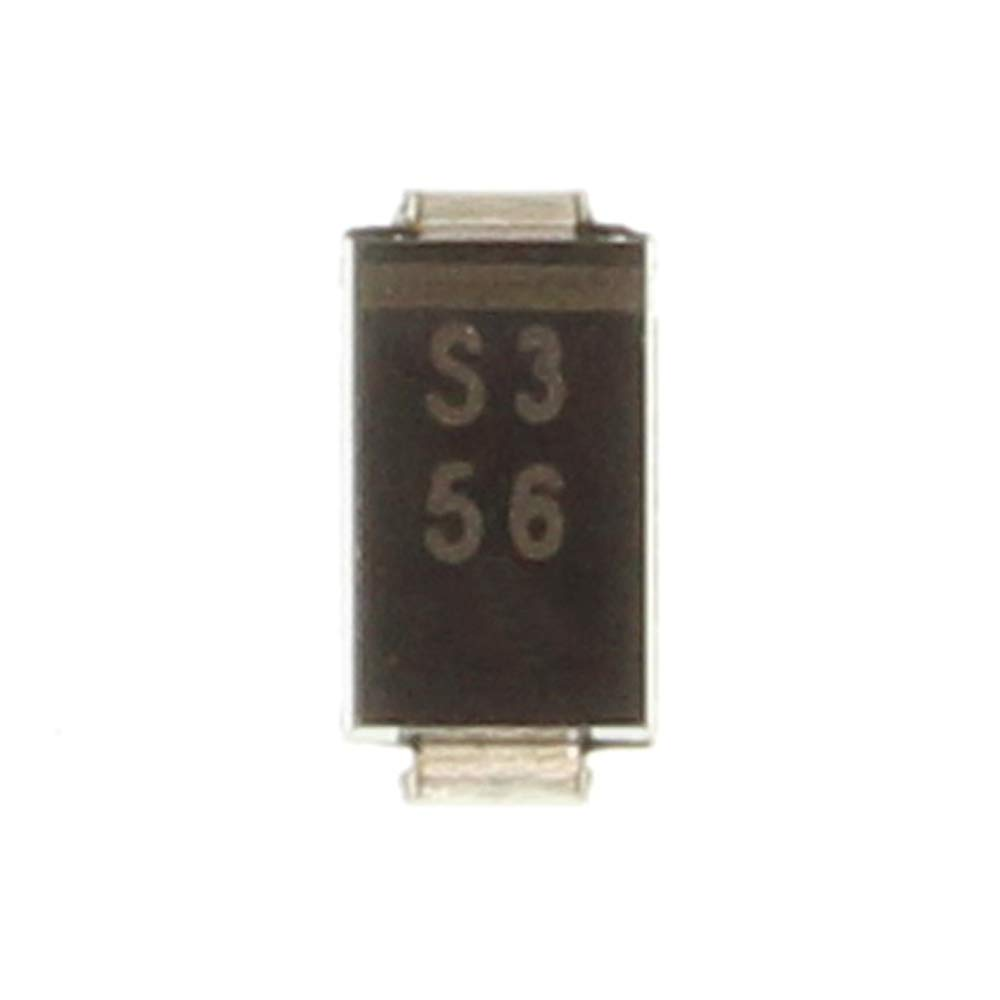 Replace for 1N5818 10PCS SS13 Schottky Barrier Rectifier Diode 1A 30V SMA//DO-214AC Marking S3