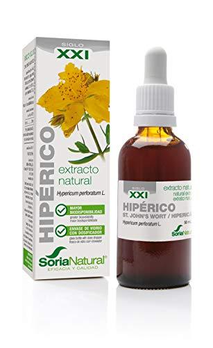 Extracto natural Hipérico. Soria natural. Fórmula XXI
