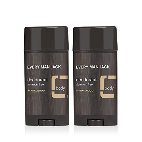Every Man Jack Deodorant Twin Pack Sandalwood