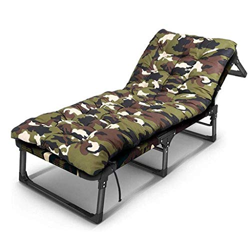 ZHUAN Fauteuil inclinable inclinable Sun Garden Outdoor Patio Guest Bed Transat (Couleur: D)