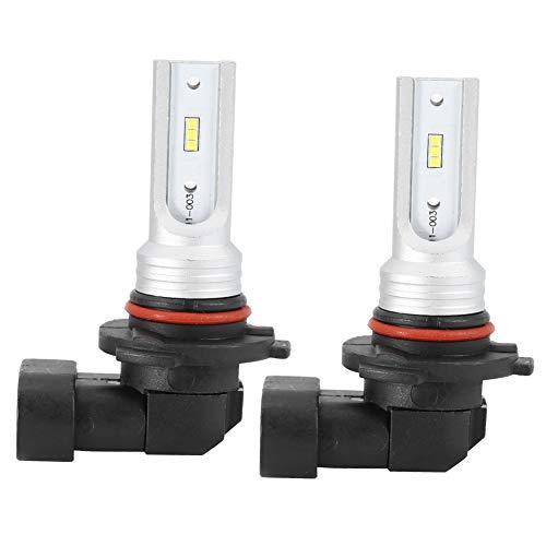 Bombilla para Faros Delanteros, 2 Piezas 9005 72W 6000K Bombilla Blanca para Faros Delanteros LED Cuentas de lámpara antiniebla con decodificación