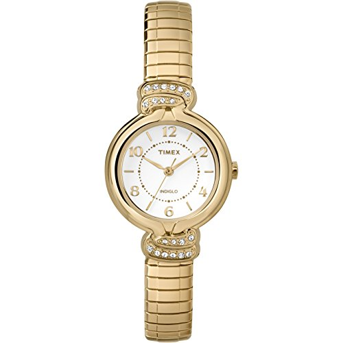 Price comparison product image Timex Women's TW2P613009J Main Street Collection Analog Display Quartz Gold Watch