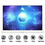 Digitaler Bilderrahmen HD 10 Zoll Full-IPS-Display Elektronischer Bilderrahmen Musik