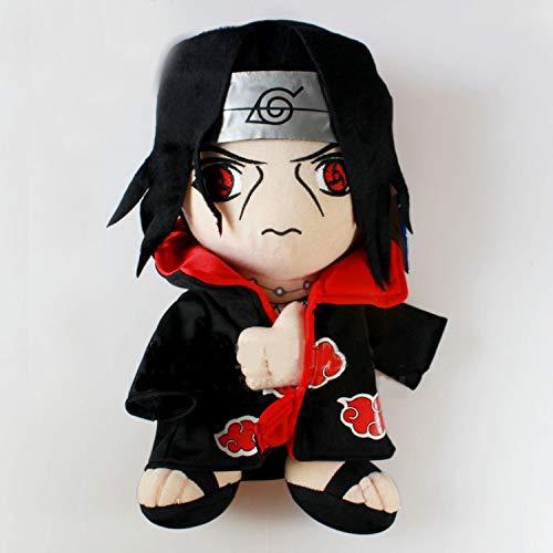 xinyawl Plüschtier 30 cm Anime Naruto Uchiha Itachi Sasuke Naruto Kurama Kyuubi Peluche Poupée Jouets Enfants Cadeau