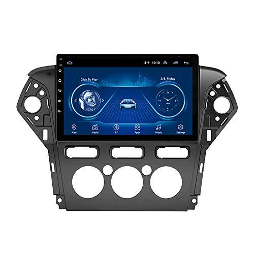 Auto GPS Navigator Autoradio Es Adecuado para Ford Mondeo 2011-2013 Navigation Coche De Navegación GPS Navegación De La Navegación De Inversión (Manual Air Conditioner)