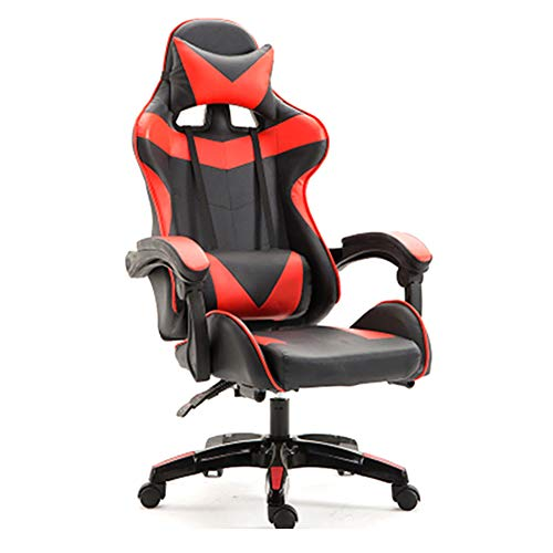 Computer Home Reclining Esports stoel/liftable roterende Racing stoel/bureaustoel Modern design size Rood