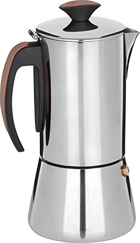 Trudeau Stainless Steel 16 ounce Espresso Maker