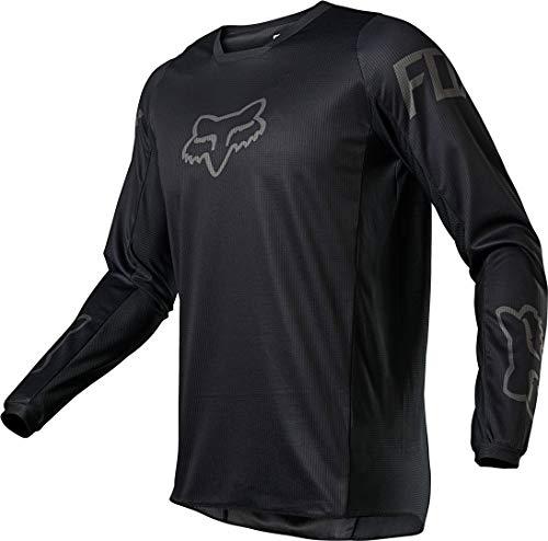 Fox Racing 180 REVN Jersey - X-Large, Black/Black