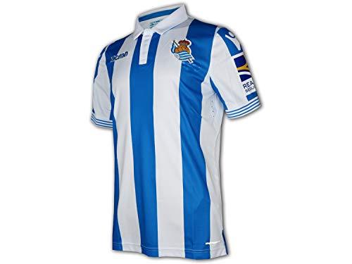 Macron Real Sociedad San Sebastián Home Jersey 18/19 blau LaLiga Fußball Trikot, Größe:XL