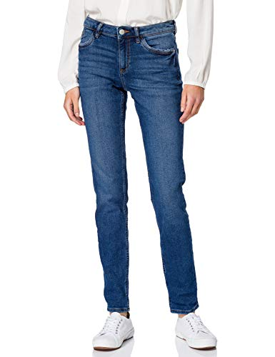 edc by Esprit 991CC1B314 Jeans, 901/Blue Dark Wash, 26W x 32L para Mujer
