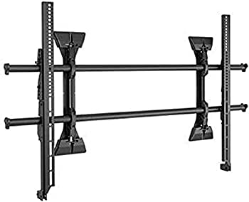 Chief XSM1U Fixed Wall Display Mount Fusion X-Large Micro-Adjustable 250 lb Weight Capacity 26.25  H x 42.75  W x 2.25  D Black