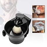 Brocha de afeitar 4 en 1 Soporte para brocha de afeitar, Soporte para brocha de afeitar, Soporte para brocha de afeitar Soporte para afeitar Soporte para afeitar Juego de brocha de afeitar con soporte