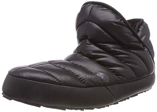 The North Face Thermoball Traction Bootie Shiny TNF Black/Beluga Grey 8 B (M)