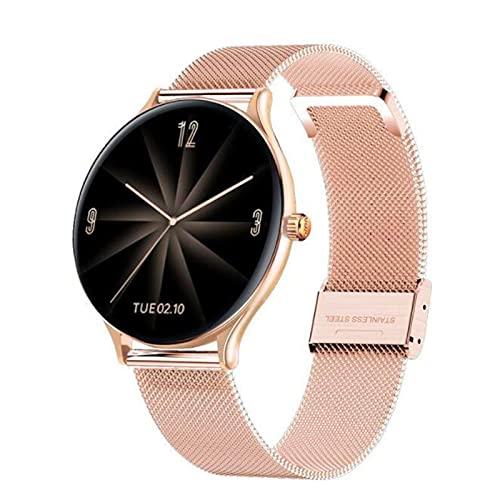 LOVOUO El Nuevo Smartwatch (podómetro de monitorización del sueño y del Ritmo cardíaco a Prueba de Agua IP67 de 1,3 ) Reloj Inteligente con Seguimiento de Actividad física