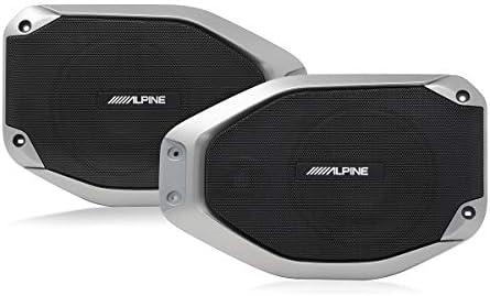 Alpine Electronics SPV-65-JLT Weather-Resistant Rear Soundbar Upgrade Kit for The New 2018 – Up Jeep Wrangler and 2020 – Up Jeep Gladiator