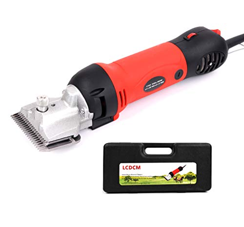 Sheep/Horse Clippers Electric Goat Shears, Portable Electric Hair Fur Grooming Clippers for Horse Goats Alpacas Llamas Thick Coat Animals, Farm Livestock Pet Supplies 380W (Sheep Shears)