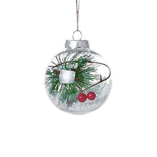 HEVÜY Weihnachtsartikel/Dekoartikel in schöne Weihnachtsdekoration am Weihnachtsbaum, Fenster oder Türgesteck