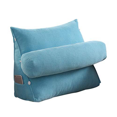 Mmm Cuscino per Schienale Cuscino Cuscino per Letto Cuscino per Collo Cuscino per Ufficio Cuscino Triangolare Tridimensionale Design Aderente Tessuto per cornmite Confortevole e Morbido