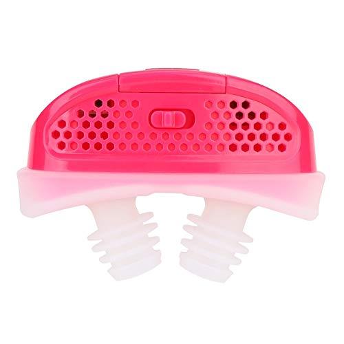 BLLBOO Professionelle elektrische Intelligent Anti Schnarchen Gerät Geräte Health Care Zubehör (rot)