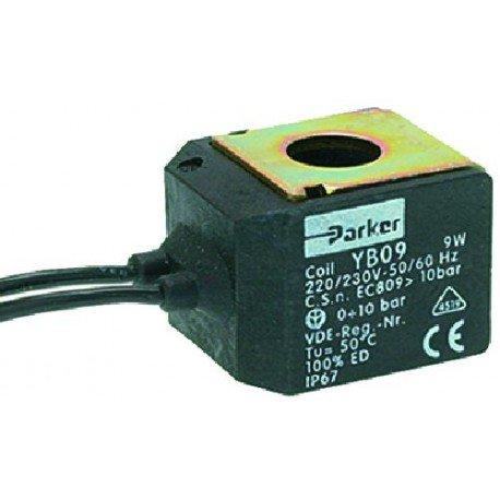 BOBINA PARKER YB09 220/230V 9W 50/60HZ Cod. 1120361