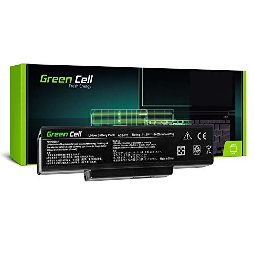 Green Cell Batería ASUS A32-F3 A33-F3 para ASUS F3 F3S F3SA F3SC F3SG F3SR F3SV F3E F3F F3J F3K F3Q F3T F3TC F3U F2 F2F F2HF F2J F2JE F7 M51 M51KR M51S M51SE M51SN M51V M51VA M51VR X53K X53KE Portátil