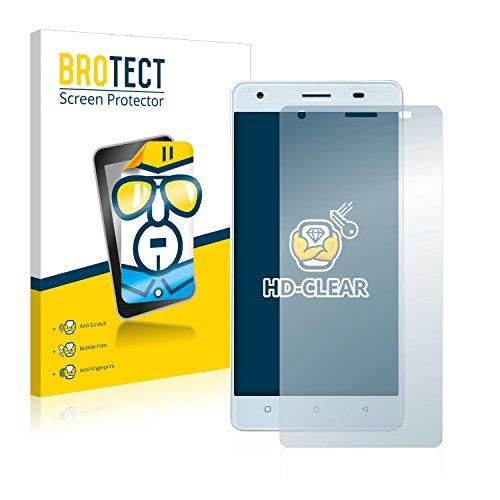 BROTECT Schutzfolie kompatibel mit Oukitel C5 (2 Stück) klare Bildschirmschutz-Folie