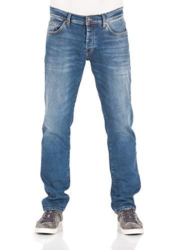 LTB Herren Jeans Sawyer - Slim Fit - Blau - Hazy Wash, Größe:W 29 L 32, Farbe:Hazy Wash (50948)