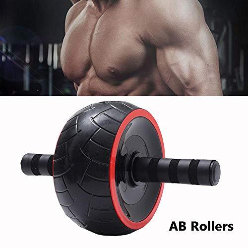 zhuangyulin6 Bauchmuskel-Übungsrolle, AB-Rollen-Armkraft-Übungs-Fitness Bauch-Bauch-Trainer-Rolle, Bauch-Bauch-Übungsmaschine