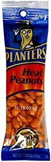 Planters Heat Peanuts, 1.75-Ounce Tubes (Pack of 108)