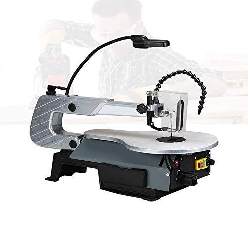 Sierras de desplazamiento eléctricas de 180 W, Sierras de desplazamiento profesionales con luz LED, Profundidad de corte 57 Mm / 2,2 ', Velocidad variable 400-1600 RPM, Inclinación de 45 ° para corte