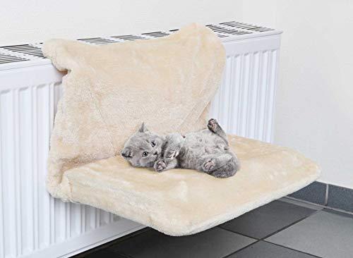 SIDCO Katzen Hängematte Heizungsliege Hängeliege Kuschelbett Liegemule Heizkörperliege