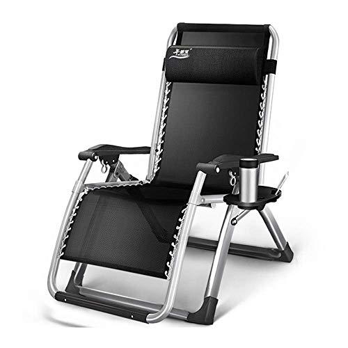YLCJ Ergonomische klapstoel ligstoel tuinbed strandstoel ligstoelen voor buiten terras camping (kleur: a) D