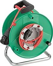 Brennenstuhl Garant® G IP44 Kabelhaspel (Buiten Kabelhaspel voor de tuin met 38+2m kabel in rood, speciale kunststof, tijd...