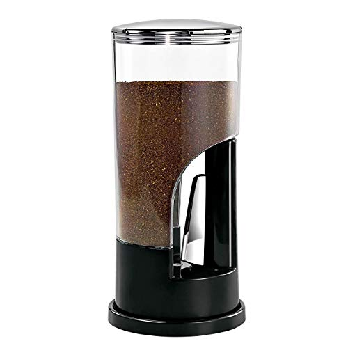Zevro KCH-06079 Indispensable 1/2-Pound-Capacity Coffee Dispenser, Black