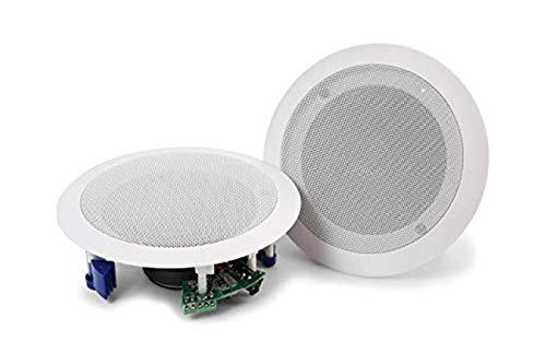 BES SRL Coppia Casse Altoparlanti DIFFUSORE Audio Bluetooth SOFFITTO Incasso 20W P8055