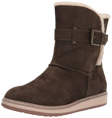 WHITE MOUNTAIN Shoes Taite Women's Boot, Army/Fabric, 7 M