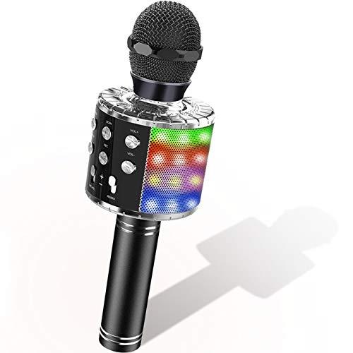 Dreamingbox Spiele Geschenke für Jungen 4-12 Jahre, Bluetooth Mikrofon für Kinder ab 4-12 Jahre Spiel Mädchen Spielzeug für Jungen Geburtstagsgeschenk 7 8 9 10 11 Jahre Spiele Gastgeschenke Karaoke