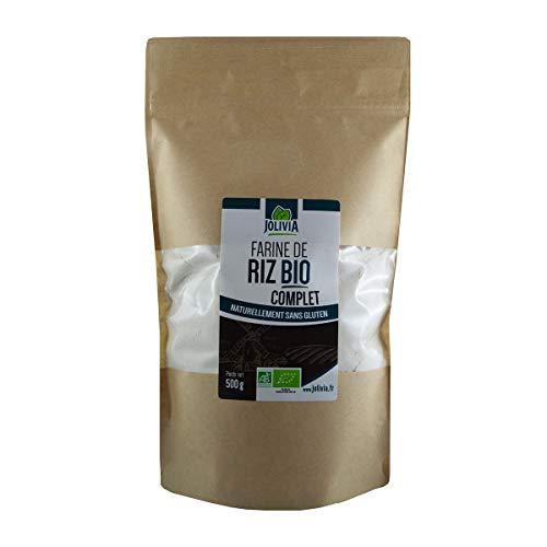 Farine de Riz Complet Bio - 500 g