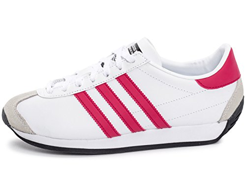 Adidas - Country OG J - S80228 - El Color: Blanco - Talla: 36.0