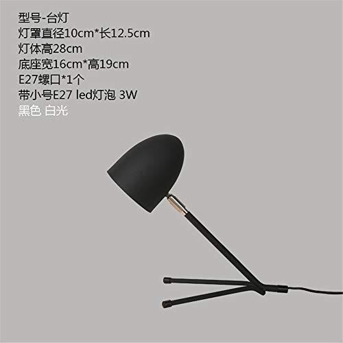 YU-K 24 l'angle réglable lampes de l'œil l'étude du travail moderne minimaliste idées chambre lampe de chevet LED, noir et blanc