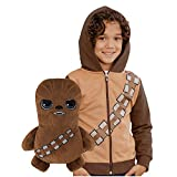 Cubcoats Star Wars Chewbacca - 2-in-1 Transforming Classic Zip-Up & Soft Plushie - Chewie Brown