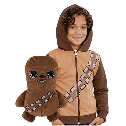 (56% OFF Coupon) Chewbacca 2-in-1 Plushie Turns into Hoodie $15.29